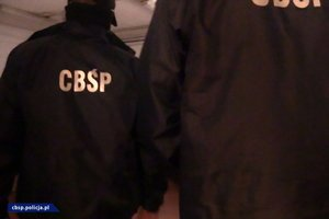 Policjanci CBŚP w trakcie czynności służbowych - zdjęcia poglądowe