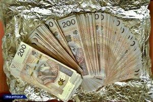 zabezpieczone pieniądze