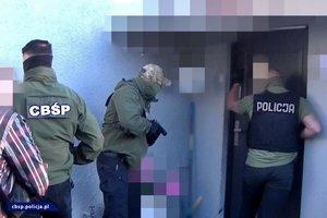 policjanci CBŚP